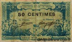 50 Centimes FRANCE régionalisme et divers VALENCE 1915 JP.127.06 TB