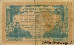 1 Franc FRANCE régionalisme et divers VALENCE 1915 JP.127.07 TB