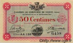 50 Centimes FRANCE régionalisme et divers Vienne 1915 JP.128.04 SPL à NEUF