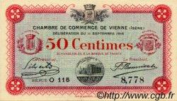 50 Centimes FRANCE régionalisme et divers Vienne 1916 JP.128.09 TTB à SUP