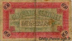 50 Centimes FRANCE régionalisme et divers VIENNE 1916 JP.128.09 TB
