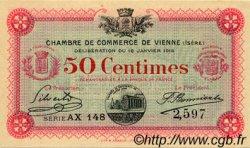 50 Centimes FRANCE régionalisme et divers VIENNE 1916 JP.128.11 SPL à NEUF