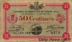 50 Centimes FRANCE régionalisme et divers VIENNE 1916 JP.128.11 TB