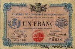 1 Franc FRANCE régionalisme et divers VIENNE 1916 JP.128.12 TB