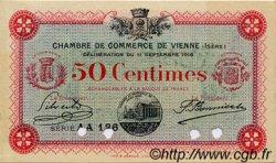 50 Centimes FRANCE régionalisme et divers VIENNE 1916 JP.128.17 TTB à SUP