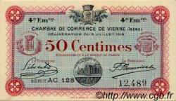 50 Centimes FRANCE régionalisme et divers VIENNE 1918 JP.128.21 SPL à NEUF