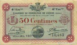 50 Centimes FRANCE régionalisme et divers Vienne 1918 JP.128.21 TTB à SUP
