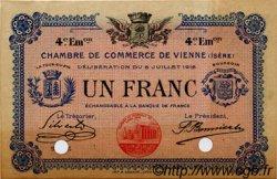1 Franc FRANCE régionalisme et divers Vienne 1918 JP.128.24 TTB à SUP