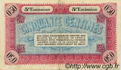 50 Centimes FRANCE régionalisme et divers Vienne 1920 JP.128.25 TTB à SUP