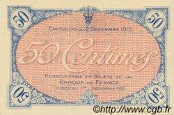 50 Centimes FRANCE régionalisme et divers VILLEFRANCHE-SUR-SAÔNE 1915 JP.129.01 SPL à NEUF