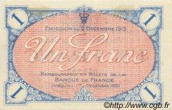 1 Franc FRANCE régionalisme et divers VILLEFRANCHE-SUR-SAÔNE 1915 JP.129.04 SPL à NEUF