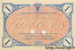 1 Franc FRANCE régionalisme et divers VILLEFRANCHE-SUR-SAÔNE 1915 JP.129.05 SPL à NEUF