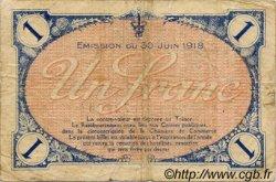 1 Franc FRANCE régionalisme et divers Villefranche-Sur-Saône 1918 JP.129.09 TB