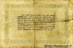 1 Franc FRANCE régionalisme et divers COLMAR 1918 JP.130.03 TB