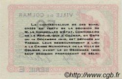 50 Centimes FRANCE régionalisme et divers Colmar 1918 JP.130.05 SPL à NEUF