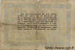 1 Franc FRANCE régionalisme et divers COLMAR 1918 JP.130.06 TB