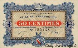 50 Centimes FRANCE régionalisme et divers STRASBOURG 1918 JP.133.01 SPL à NEUF