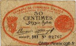 50 Centimes FRANCE régionalisme et divers Alger 1919 JP.137.11 TB