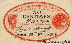 1 Franc FRANCE régionalisme et divers ALGER 1920 JP.137.14 TTB à SUP