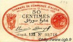 50 Centimes FRANCE régionalisme et divers Alger 1920 JP.137.16 SPL à NEUF