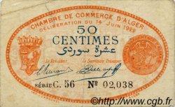 50 Centimes FRANCE régionalisme et divers Alger 1922 JP.137.23 TTB à SUP