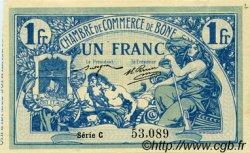 1 Franc FRANCE régionalisme et divers BÔNE 1915 JP.138.03 SPL à NEUF