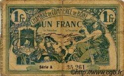 1 Franc FRANCE régionalisme et divers Bône 1915 JP.138.03 TB