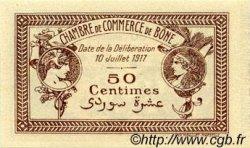 50 Centimes FRANCE régionalisme et divers BÔNE 1917 JP.138.04 SPL à NEUF