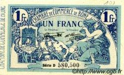 1 Franc FRANCE régionalisme et divers BÔNE 1920 JP.138.13 SPL à NEUF
