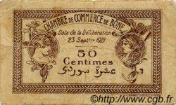 50 Centimes FRANCE régionalisme et divers Bône 1921 JP.138.18 TB