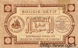 50 Centimes FRANCE régionalisme et divers BOUGIE, SÉTIF 1915 JP.139.01 TTB à SUP