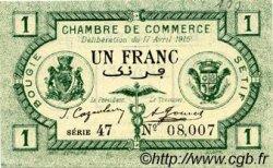 1 Franc FRANCE régionalisme et divers Bougie, Sétif 1915 JP.139.02 SPL à NEUF