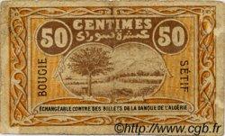 50 Centimes FRANCE régionalisme et divers Bougie, Sétif 1918 JP.139.03 TB