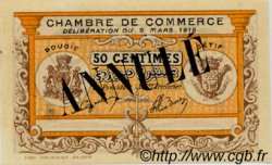 50 Centimes FRANCE régionalisme et divers Bougie, Sétif 1918 JP.139.04 TTB à SUP