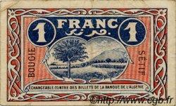 1 Franc FRANCE régionalisme et divers Bougie, Sétif 1918 JP.139.06 TTB à SUP
