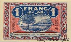 1 Franc FRANCE régionalisme et divers BOUGIE, SÉTIF 1918 JP.139.07 TTB à SUP