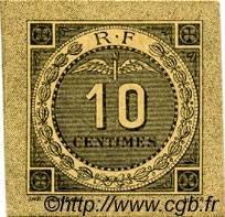 10 Centimes FRANCE régionalisme et divers BOUGIE, SETIF 1916 JP.139.10 SPL à NEUF