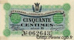 50 Centimes FRANCE régionalisme et divers Constantine 1915 JP.140.03 TTB à SUP