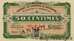 50 Centimes FRANCE régionalisme et divers Constantine 1916 JP.140.07 SPL à NEUF
