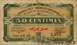 50 Centimes FRANCE régionalisme et divers CONSTANTINE 1916 JP.140.08 TB