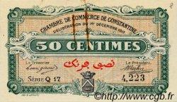 50 Centimes FRANCE régionalisme et divers CONSTANTINE 1917 JP.140.12 TTB à SUP
