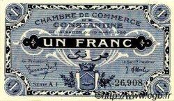 1 Franc FRANCE régionalisme et divers CONSTANTINE 1922 JP.140.37 SPL à NEUF