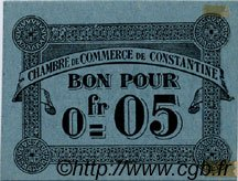 5 Centimes FRANCE régionalisme et divers CONSTANTINE 1915 JP.140.46 SPL à NEUF