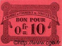 10 Centimes FRANCE régionalisme et divers CONSTANTINE 1915 JP.140.47 SPL à NEUF
