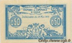 50 Centimes FRANCE régionalisme et divers Oran 1915 JP.141.01 SPL à NEUF