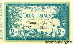 2 Francs FRANCE régionalisme et divers ORAN 1915 JP.141.03 SPL à NEUF