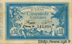 50 Centimes FRANCE régionalisme et divers Oran 1915 JP.141.04 TTB à SUP