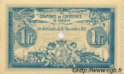 50 Centimes FRANCE régionalisme et divers Oran 1915 JP.141.07 SPL à NEUF