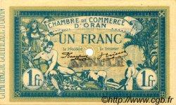 1 Franc FRANCE régionalisme et divers ORAN 1915 JP.141.09 SPL à NEUF