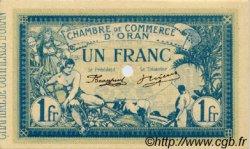1 Franc FRANCE régionalisme et divers ORAN 1915 JP.141.12 SPL à NEUF